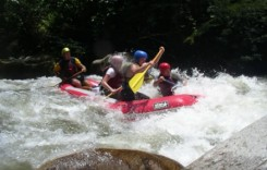 Rafting the River is Part of our Rafting Tours in Ecuador