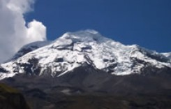 Climbing to Chimborazo Volcano Summit in Ecuador